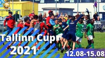 Tähelepanu! Jalgpalliturniir Tallinn Cup 2021 toimumisaeg on muutunud!