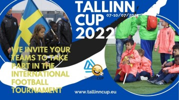 Tallinn Cup, we have started a bid campaign for 2022!!