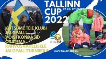Jalgpalliturniirile Tallinn Cup 2022 - tere tulemast! Oleme alustanud reklaamkampaaniat....