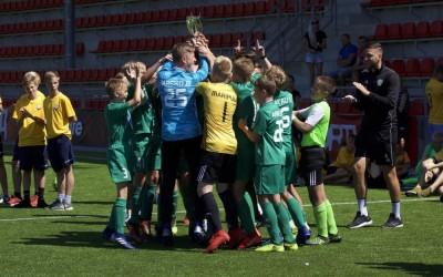 Завершается большой футбольный фестиваль Tallinn Cup 2019! Десять стран участниц разыграли 10 комплектов призов в 5-ти возрастных категориях!