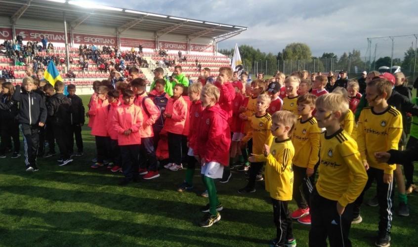 Tallinn Cup 2018! Rahvusvaheline turniir lastele on alustanud!